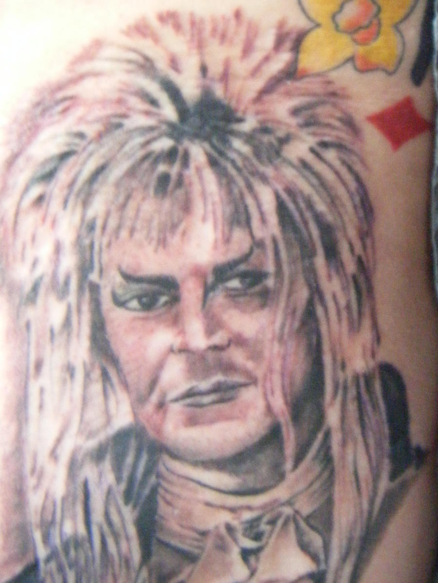 David bowie tattoo by pandoraducelet on deviantart for David bowie tattoos