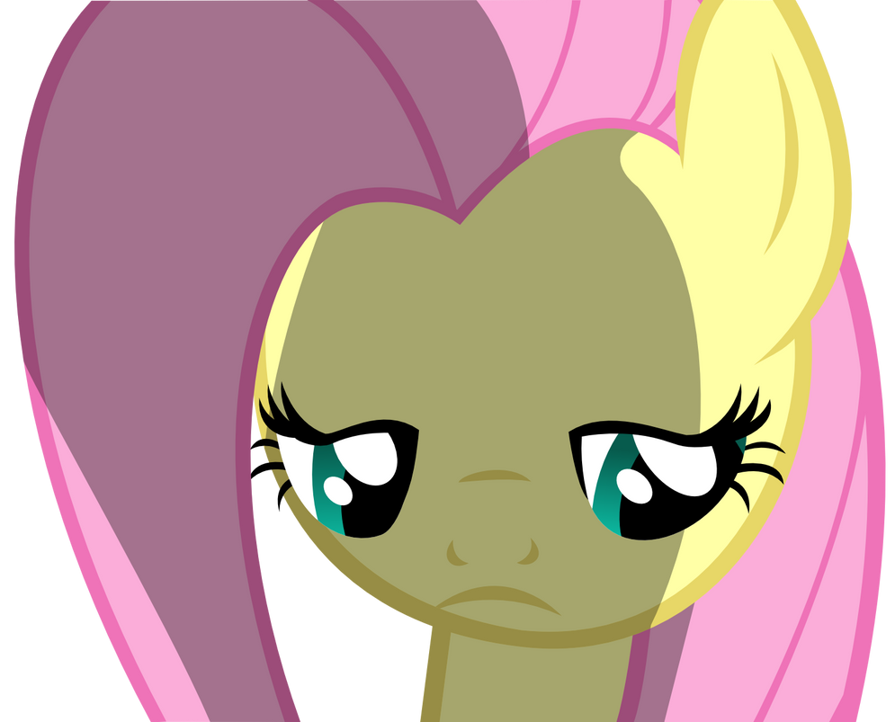 depressed fluttershy - photo #33