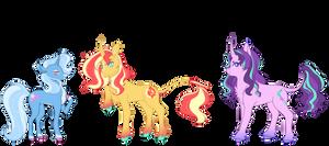 Unicorn Trio Redesigns