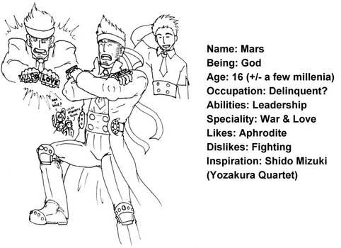 MOC Mars, character profile