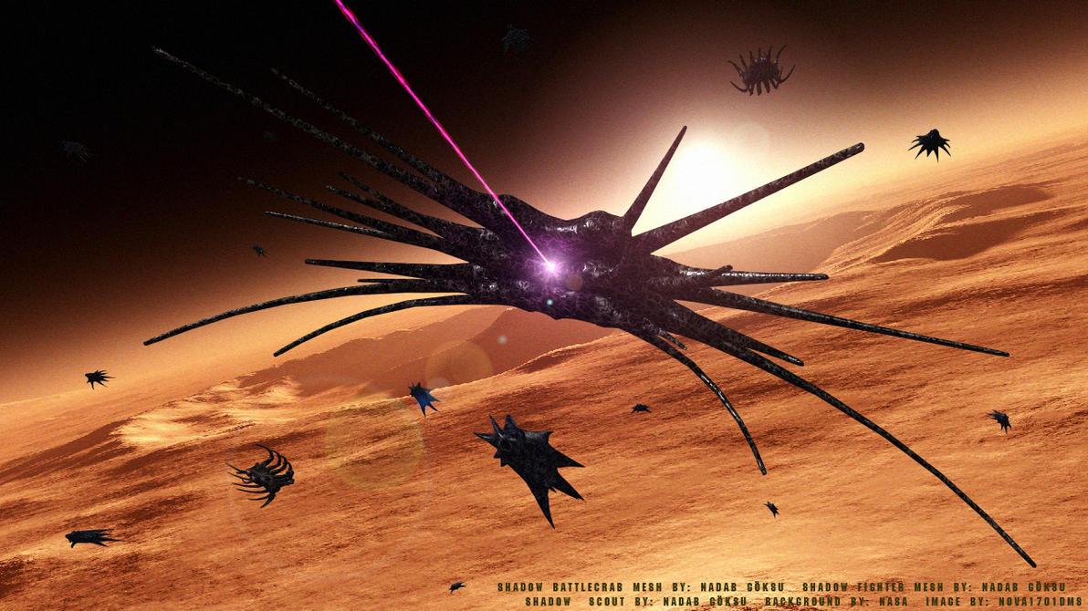 The Shadows Attack by Nova1701dms