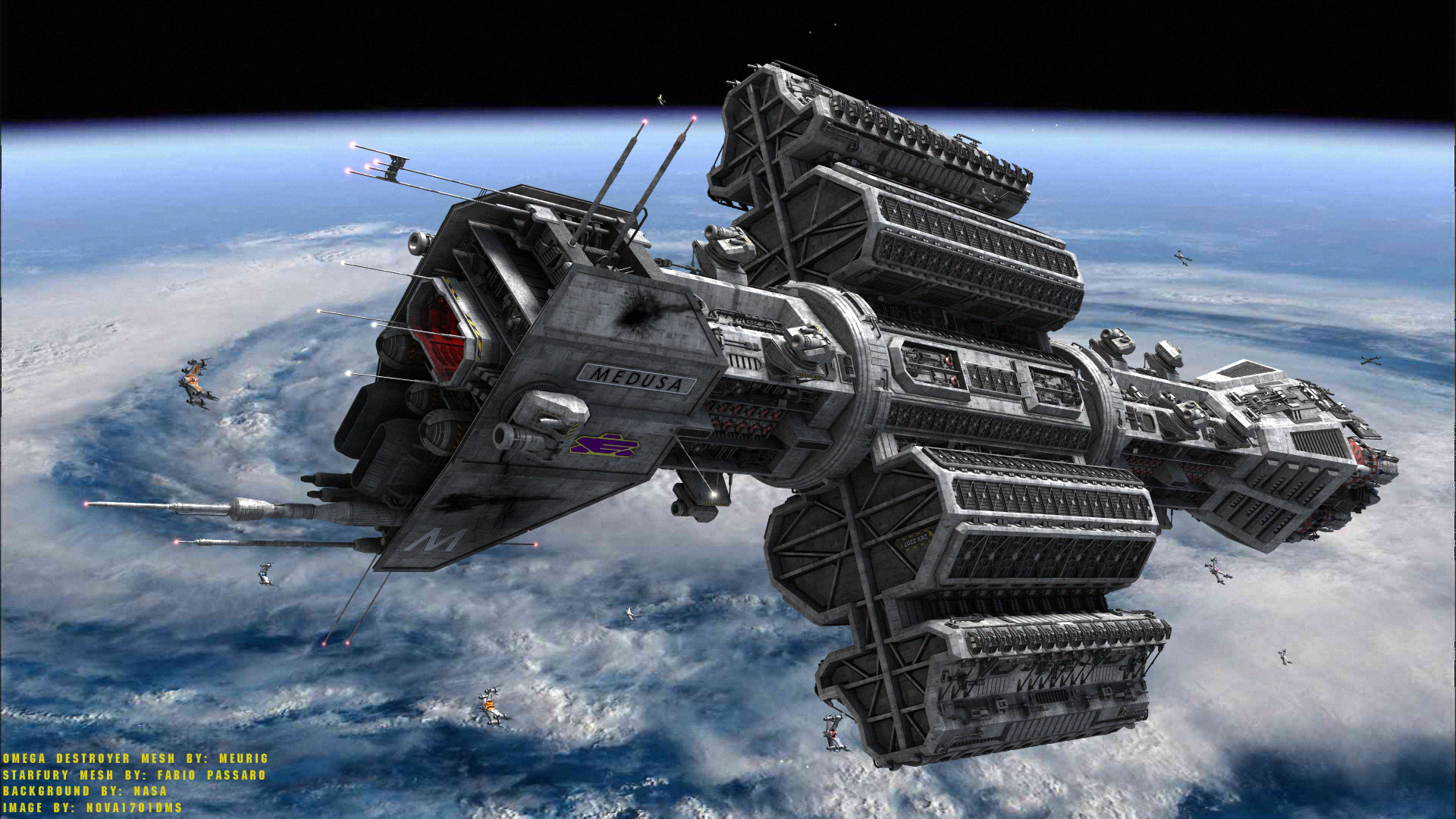 Image result for babylon 5 earth force destroyer