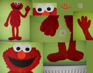 Sesame Street - Elmo by Niuchaczaus