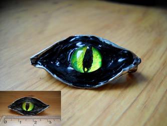 Dragon eye by Niuchaczaus