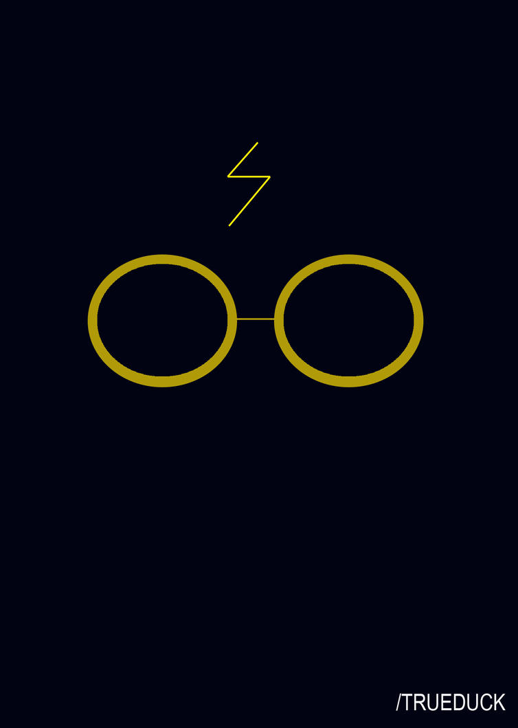 harry potter – collection of 7 – Just Random Designs |Harry Potter Minimalist Art