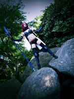 Deal with it! - Erza Knightwalker by YuyuCosplay