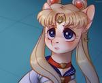 Sailor Moon Redraw Challenge by OttCat23