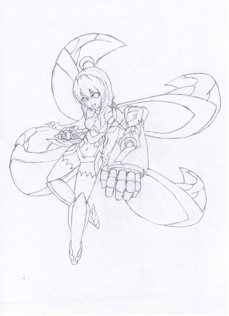 some kind of art Lucyd_assault_mode__sketch__by_gwandeolyn-d733lmn