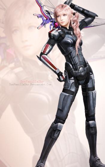 FFXIII-2: Serah Farron's N7 Armor by SynVanillaSky