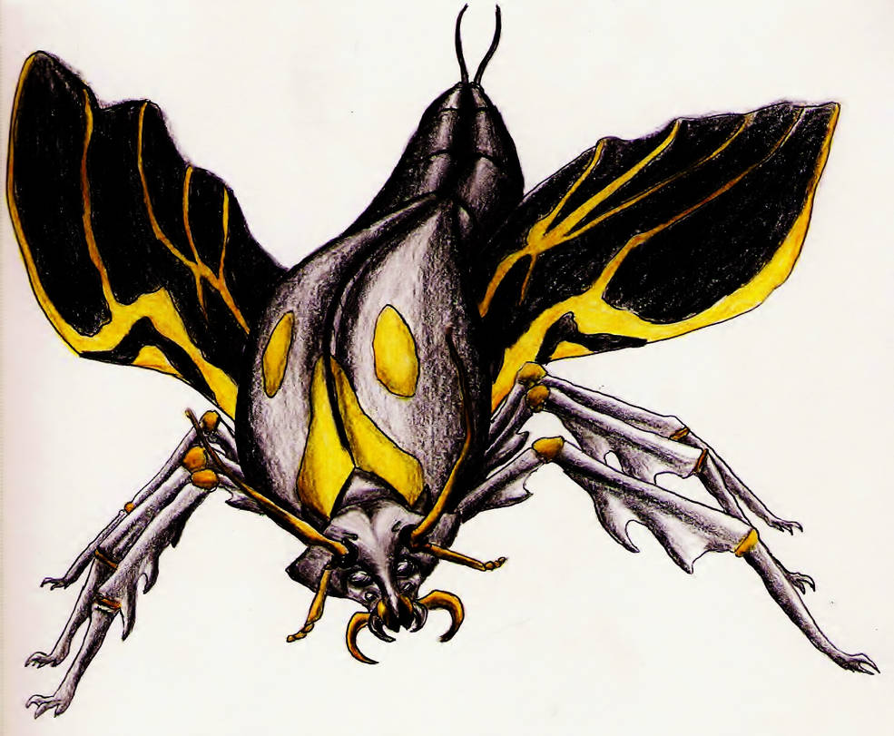 Golden Black Dussian Scarab by SpiderMilkshake