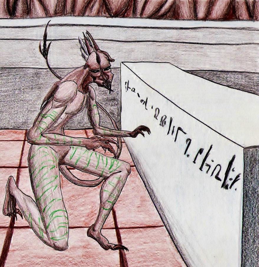 Arbossian Orig--Commission by SpiderMilkshake