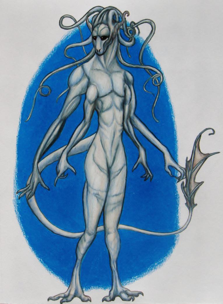 Venusian--Commission by SpiderMilkshake
