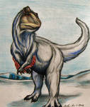 Cryolophosaurus in Almost-Spring