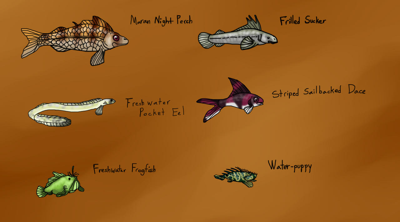 Interesting small fish species of mara isle by for Types of small fish