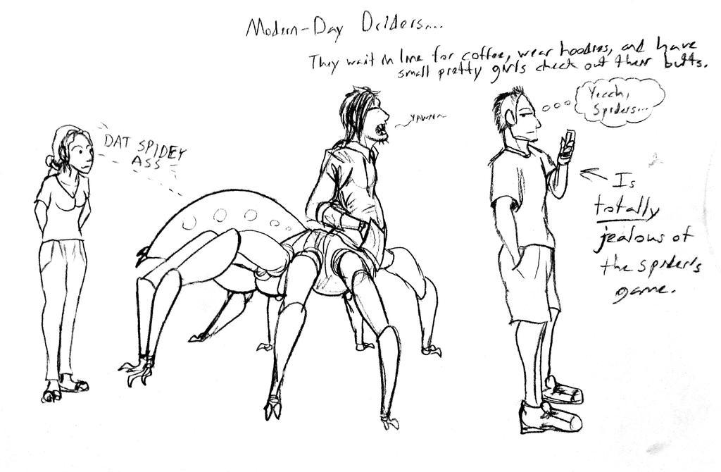 Modern Day Dridders by SpiderMilkshake