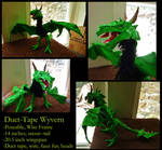 Duct-Tape Green Wyvern~