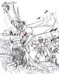 Quintesson Wars 'Scream--Triumphs of Youth by SpiderMilkshake
