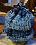 A Warm Blue Winter Hat (For Sale!) by SpiderMilkshake