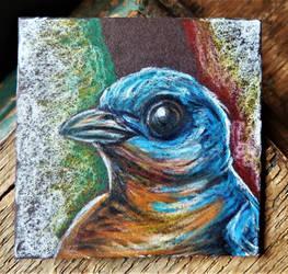 Eastern Bluebird Art Magnet