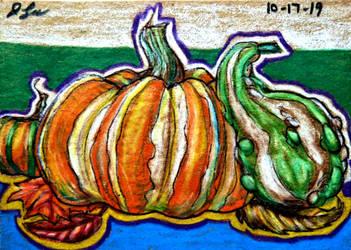 ACEO--Pumpkin Ornaments