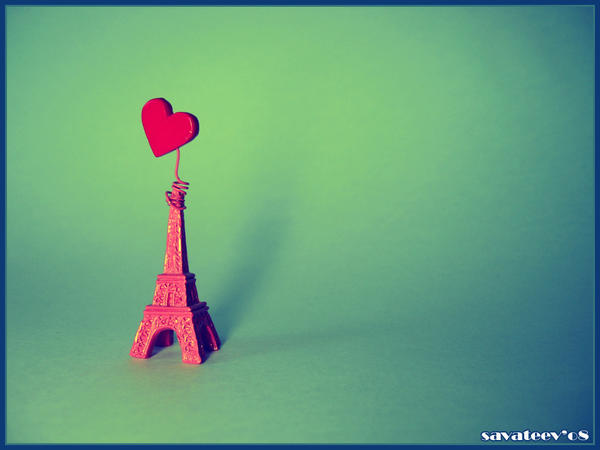 paris i love yoU by savateev