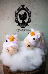 Agnes unicorn by fayettedream