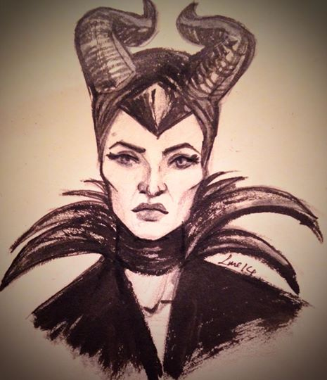 Maleficent Sketch by Moolallingtons