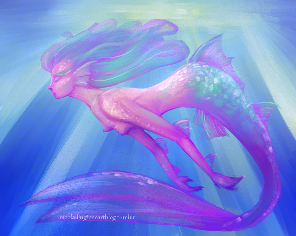 Siren Speed-paint by Moolallingtons