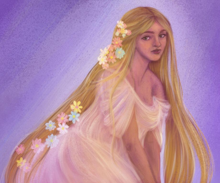 Rapunzel-ish by Moolallingtons