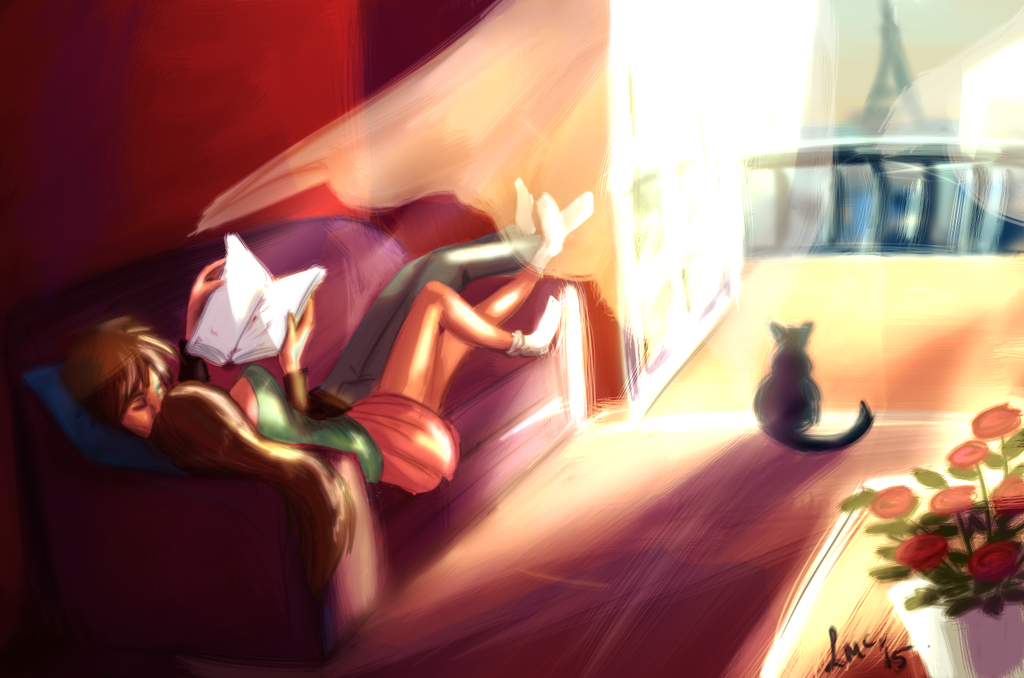 Lazy Evening by Moolallingtons