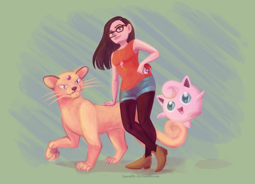 Pokemons by Moolallingtons