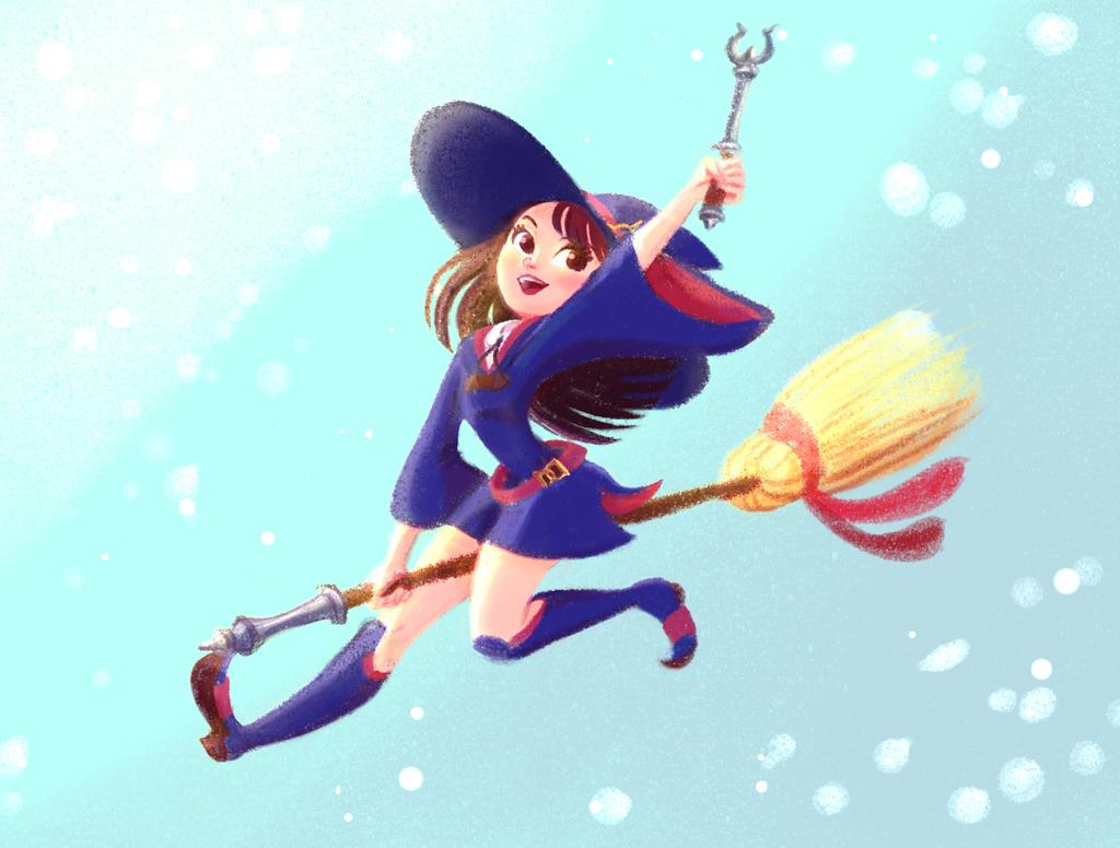 Akko - Little Witch Academia by Moolallingtons