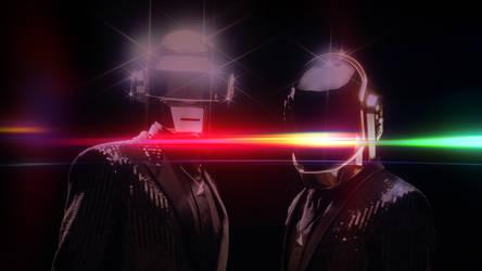 Daft Punk Homage (Dark)