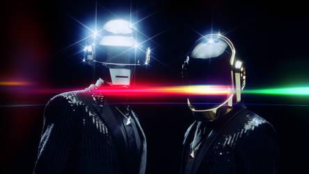 Daft Punk Homage (Light Drown)
