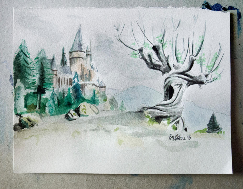Whomping Willow by GeorgieDeeArt