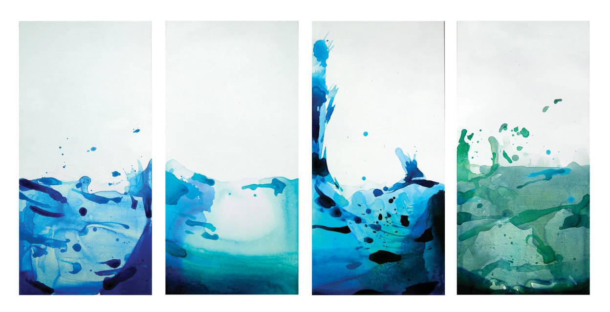 Four Corners of the Earth by GeorgieDeeArt