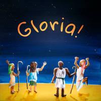 Christmas Challenge - Glory to God by GeorgieDeeArt