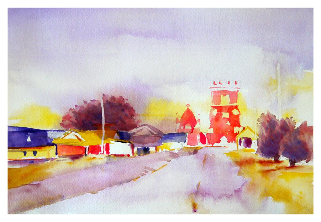 Maryborough Station by GeorgieDeeArt