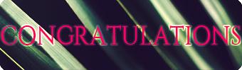 Congrats-banner3 by GeorgieDeeArt