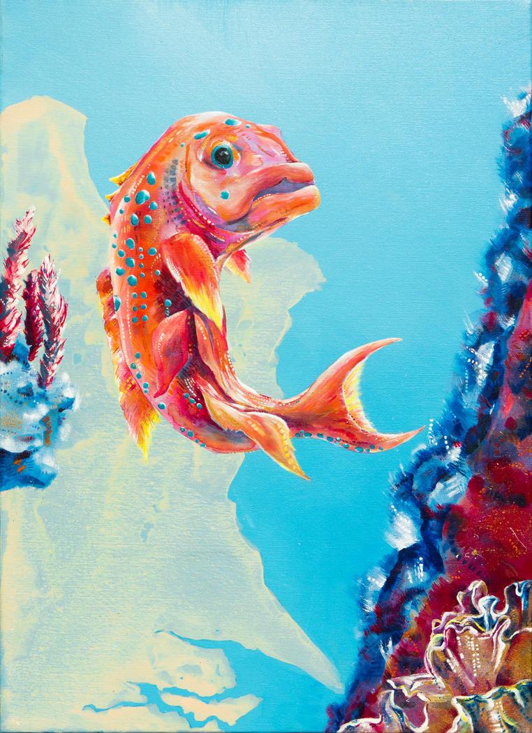 Coral Wonders by GeorgieDeeArt