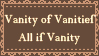 Vanity of Vanities by GeorgieDeeArt