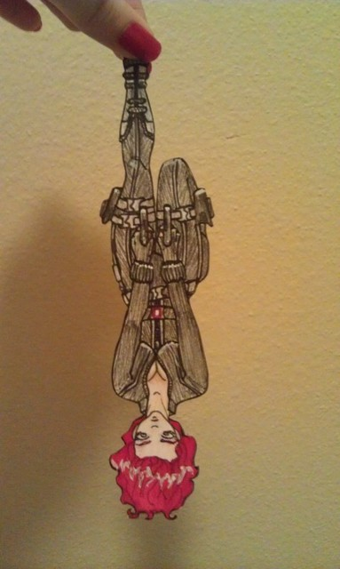 black widow paper child by makingyouhateme on  black widow paper child by makingyouhateme