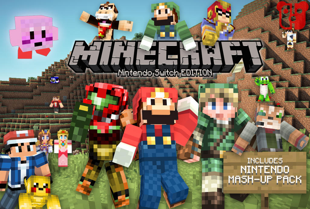 Minecraft Nintendo Switch Edition by PeterisBeter