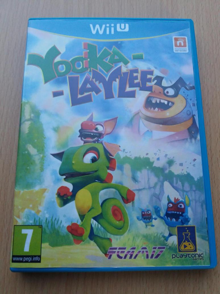 Yooka Laylee Wii U by PeterisBeter