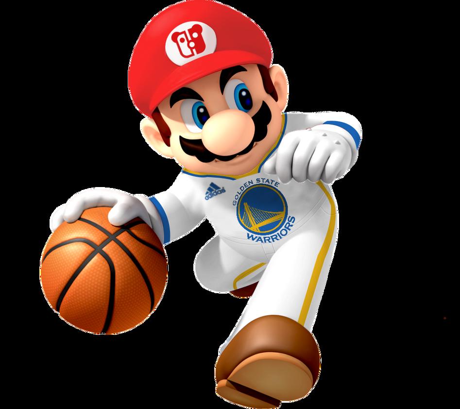 Mario Golden State Warriors by PeterisBeter