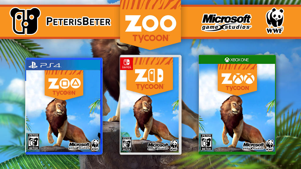 Zoo Tycoon Game PS4 Nintendo Switch Xbox One by