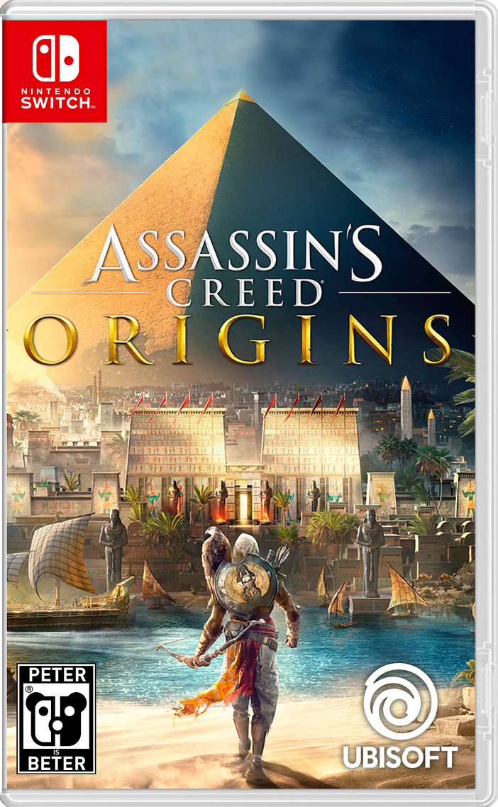 Assassin's Creed Origins Nintendo Switch Switch by PeterisBeter