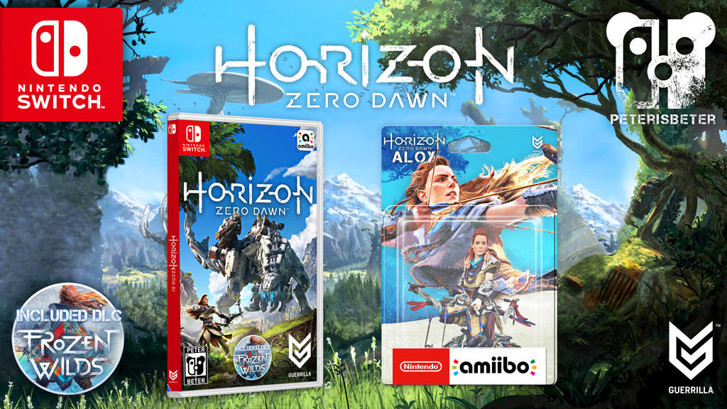 Horizon Zero Dawn Nintendo Switch by PeterisBeter