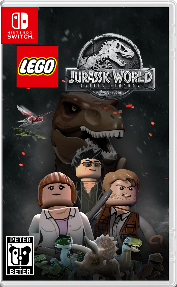lego jurassic world fallen kingdom game