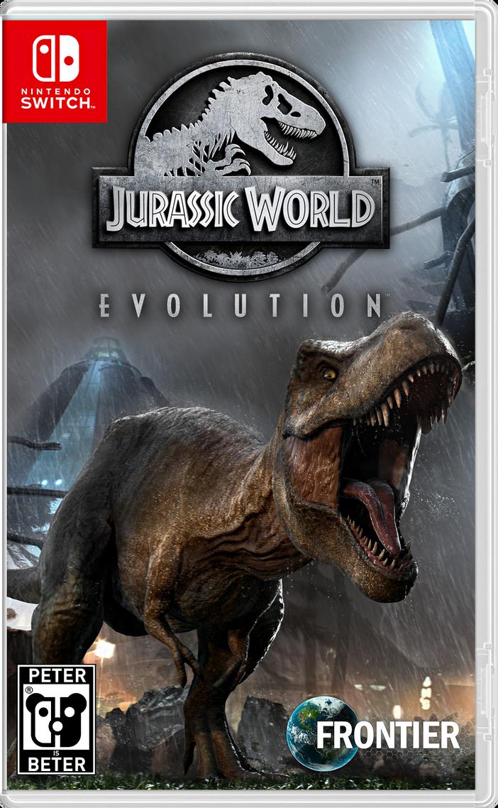 Jurassic World Evolution Nintendo Switch by PeterisBeter on